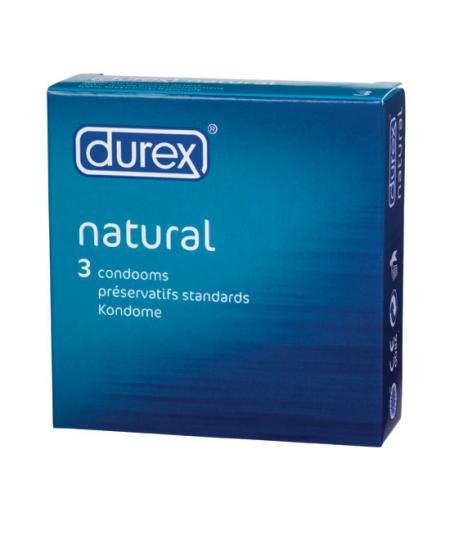 DUREX NATURAL 3 UDS. - Imagen 1