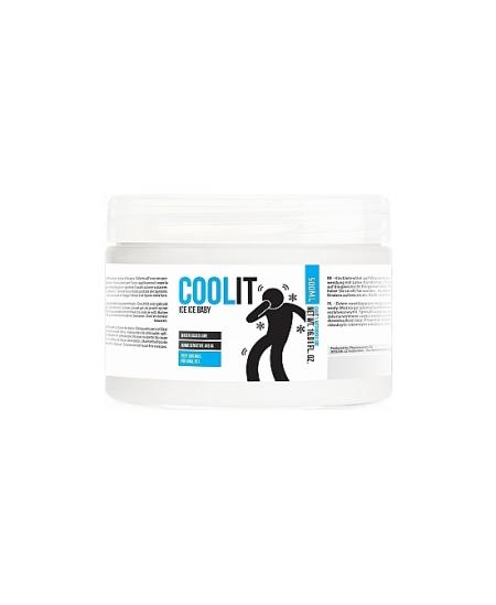 COOL IT - ICE ICE BABY - LUBRICANTE BASE AGUA 500ML - Imagen 1