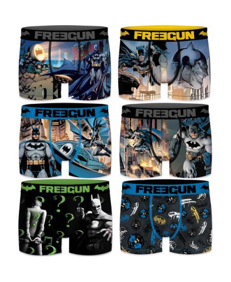 PACK 6PCS SURTIDO BATMAN FREEGUN - Imagen 1
