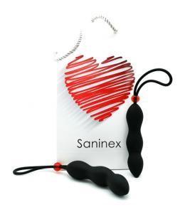 SANINEX CLIMAX - PLUG CON ANILLO - NEGRO - Imagen 1
