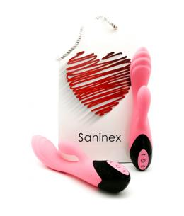 SANINEX SWAN - VIBRADOR PUNTO G & CLÍTORIS 10 VELOCIDADES - ROSA - Imagen 1
