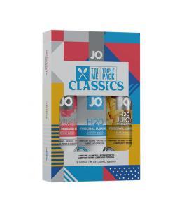 SYSTEM JO - TRI ME TRIPLE PACK CLASSIC - Imagen 1