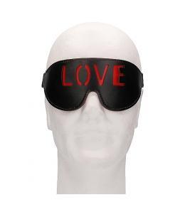 OUCH! MÁSCARA - LOVE - NEGRO - Imagen 1