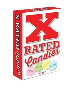 X-RATED CANDIES: CARAMELOS CON MENSAJES - Imagen 1