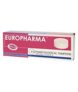 EUROPHARMA TAMPONES (6 Unid) - Imagen 1