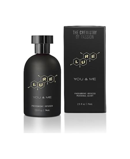 LURE BLACK LABEL FOR YOU & ME PERFUME FEROMONAS UNISEX 74ML - Imagen 1