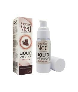 AMOREANE VIBRADOR LÍQUIDO 30ML - CHOCOLATE