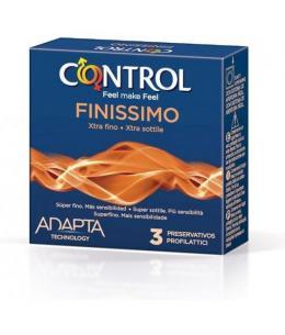 CONTROL PRESERVATIVOS FINISSIMO ORIGINAL 3 UDS - Imagen 1