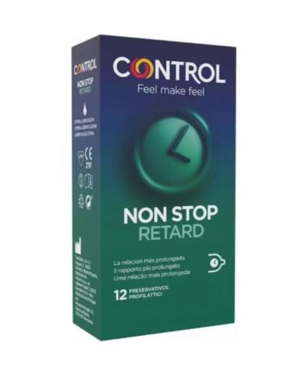 CONTROL PRESERVATIVOS NON STOP RETARD 12UDS - Imagen 1