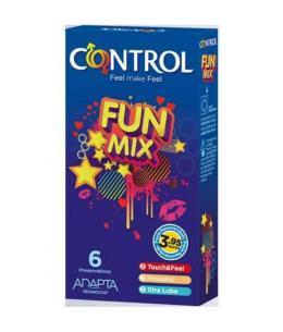 CONTROL PRESERVATIVOS FUN MIX 6 UDS - Imagen 1