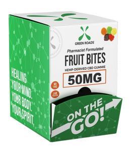 FRUIT BITES - SNAKS - DISPLAY OF 30 PIECES - Imagen 1