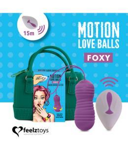 FEELZTOYS - MOTION LOVE BALLS FOXY - Imagen 1