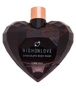 HIGH ON LOVE - PINTURA CORPORAL DE CHOCOLATE - 100 ML - Imagen 1