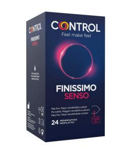 CONTROL PRESERVATIVOS FINISSIMO SENSO 24UDS - Imagen 1