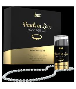 INTT PEARLS IN LOVE - GEL DE MASAJE CON COLLAR DE PERLAS - Imagen 1