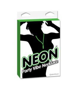 NEON PARTY VIBE COLLAR CON BALA VERDE - Imagen 1