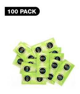 PRESERVATIVOS EXS RIBBED, DOTTED & FLARED - 100 PACK - Imagen 1