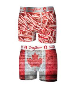 SET 2 BOXER CRAZY BOXER CANDY AND CANADIAN