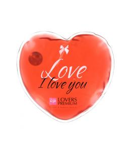 LOVERSPREMIUM - HOT MASSAGE HEART XL LOVE - Imagen 1