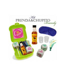 KIT PRENDA Y CHUPITO BRANDY - Imagen 1