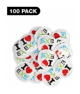 PRESERVATIVOS I LOVE EXS - 100 PACK - Imagen 1