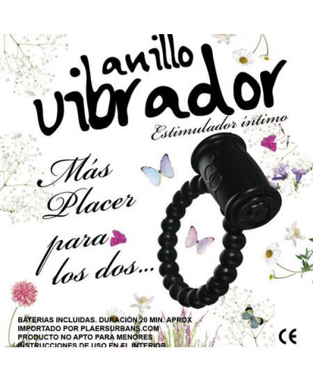 ANILLO VIBRADOR ESTIMULADOR 1 UNIDAD - COLORES SURTIDOS - Imagen 1