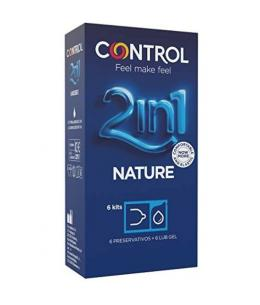 CONTROL PRESERVATIVOS NATURE CON LUBRICANTE - 6UDS - Imagen 1