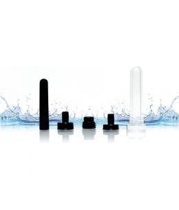 BONEYARD SKWERT KIT ENEMA 5 PCS - TRANSPARENTE / NEGRO - Imagen 1