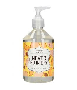 LUBRICANTE ANAL - NEVER GO IN DRY - 500 ML