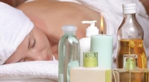 uso de cremas, aceites y lubricantes para masajes